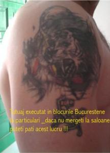tatuaje particular Salon tatuaje bucuresti, saloane tatuaje Bucuresti,