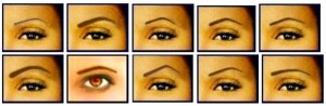 different-eyebrow-shapes