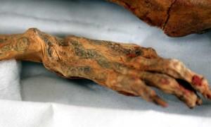Bratul Unei mumii cu tatuaje