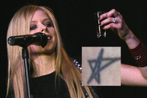Avril Levigne Tattoo
