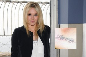 Hilary Duff Tattoo