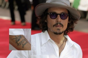 Johny Deep Tattoo