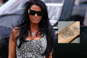 Katie Price tattoo