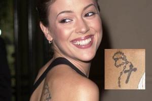 alysia milano tattoo