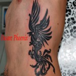 phoenix tribal coaste tatuaje Roxy Tattoo Bucuresti
