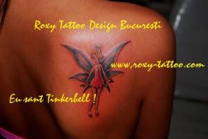 tinkerbel tatuaje Roxy