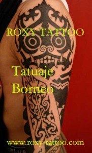 salon tatuaje bucuresti roxy tattoo tatuaje borneo