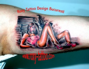 salon tatauje bucuresti roxy tattoo model pineup girl